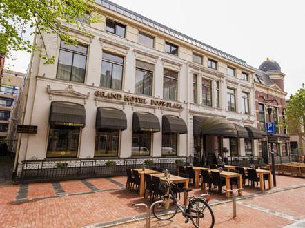 Grandhotel Post Plaza Leeuwarden - Voorkant