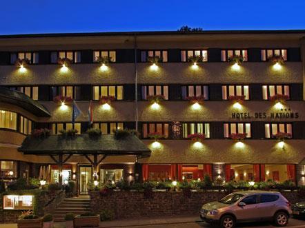 Hotel des Nations Clervaux - Aanzicht
