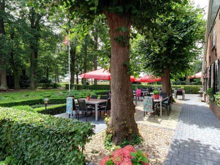Weekendjeweg Hardenberg terras
