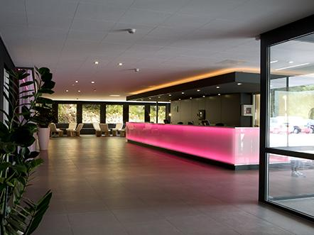 Hampshire Hotel Uden Vrije Teugel receptie lobby