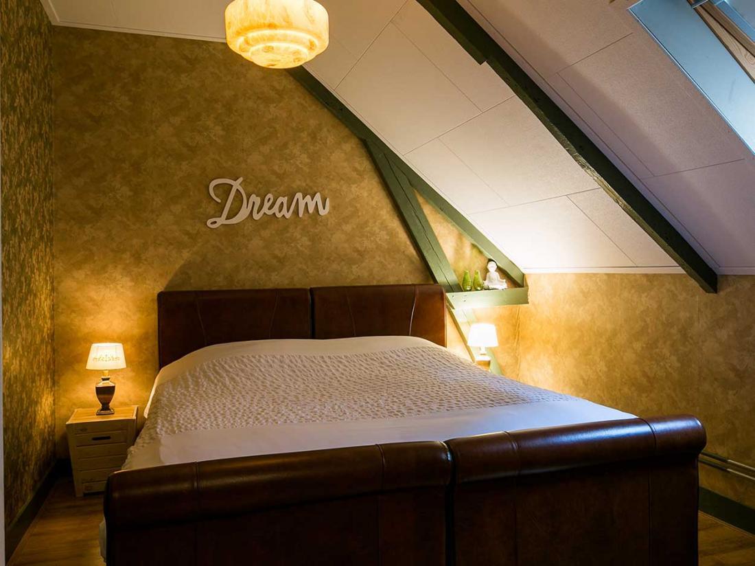 arrangementen Landhotel Aquamarijn wandelen coevorden kamer smaragd