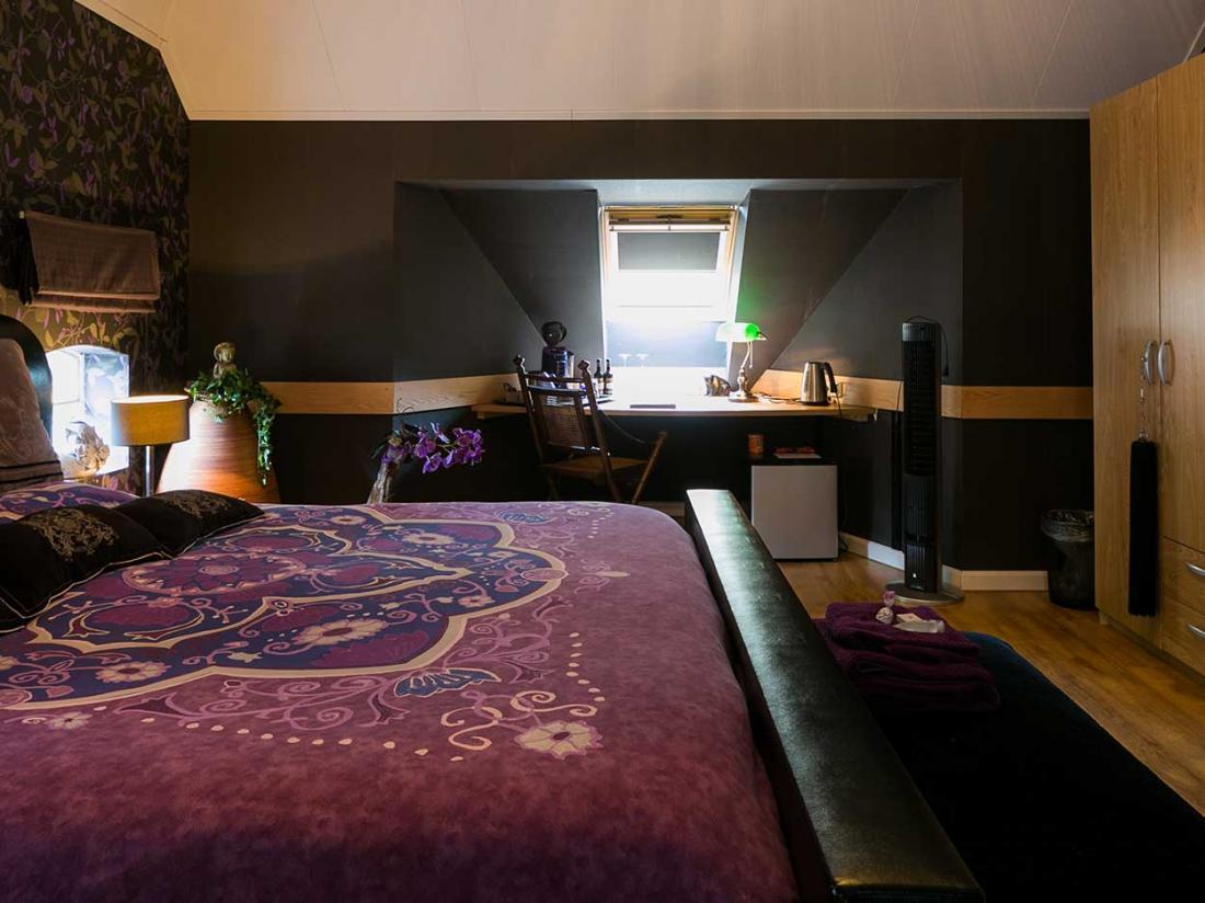 hotelaanbieding drenthe coevorden landhotel aqiamarijn amethistkamer