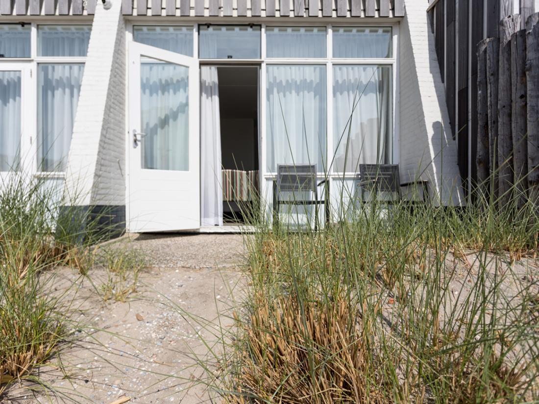 Strandhotel Westduin Weekendjeweg Zeeland Hotelkamer Terras