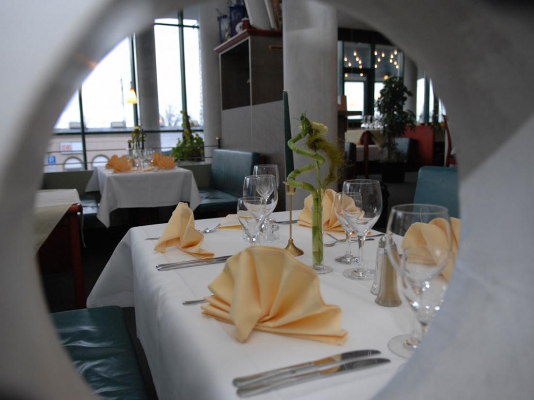 Ringhotel katharinen Hof diner tafel