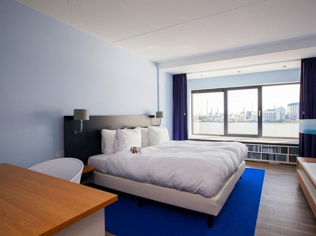 Hotelaanbieding Vlaardingen Hotelkamer Stuurman Waterzijde