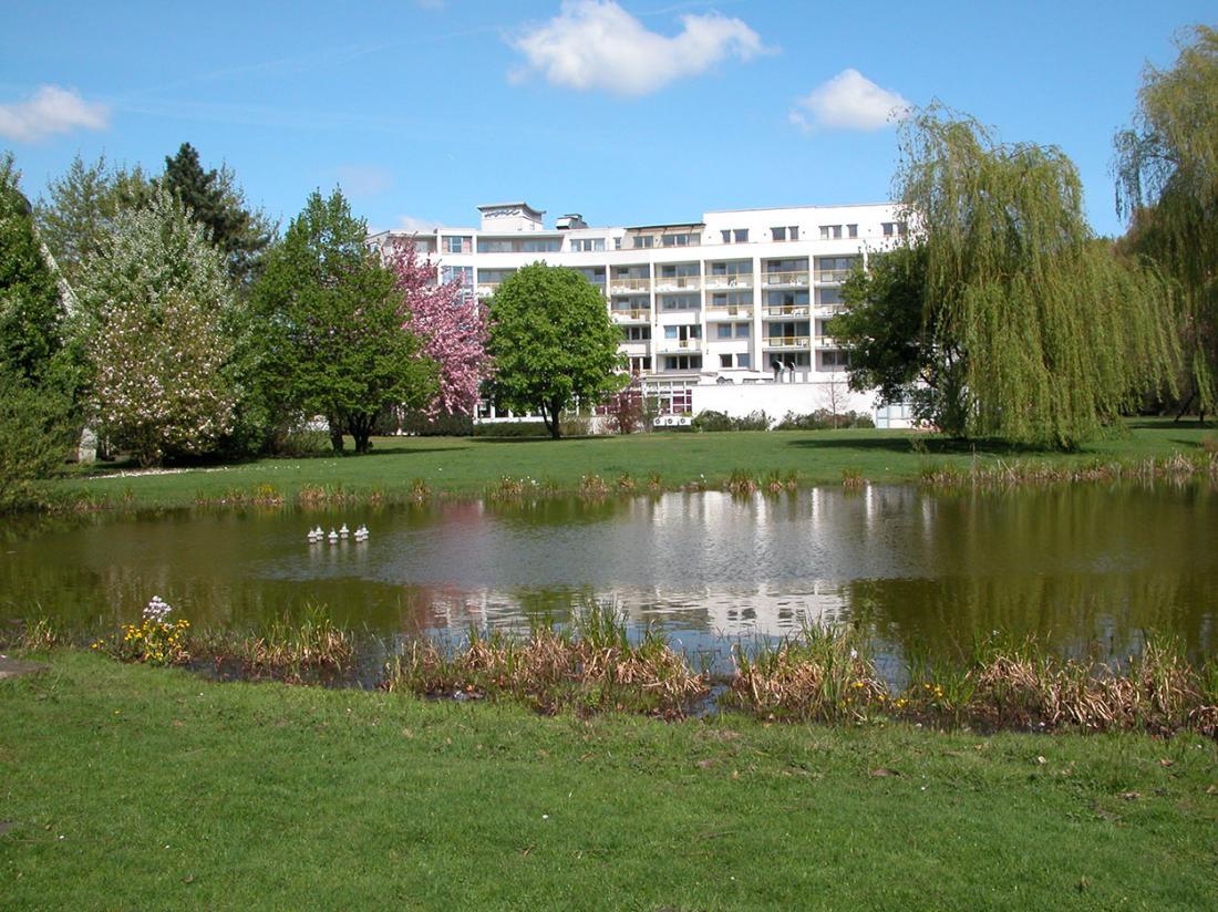 Hotelaanbieding Am Stadtpark Lnen Vooraanzicht