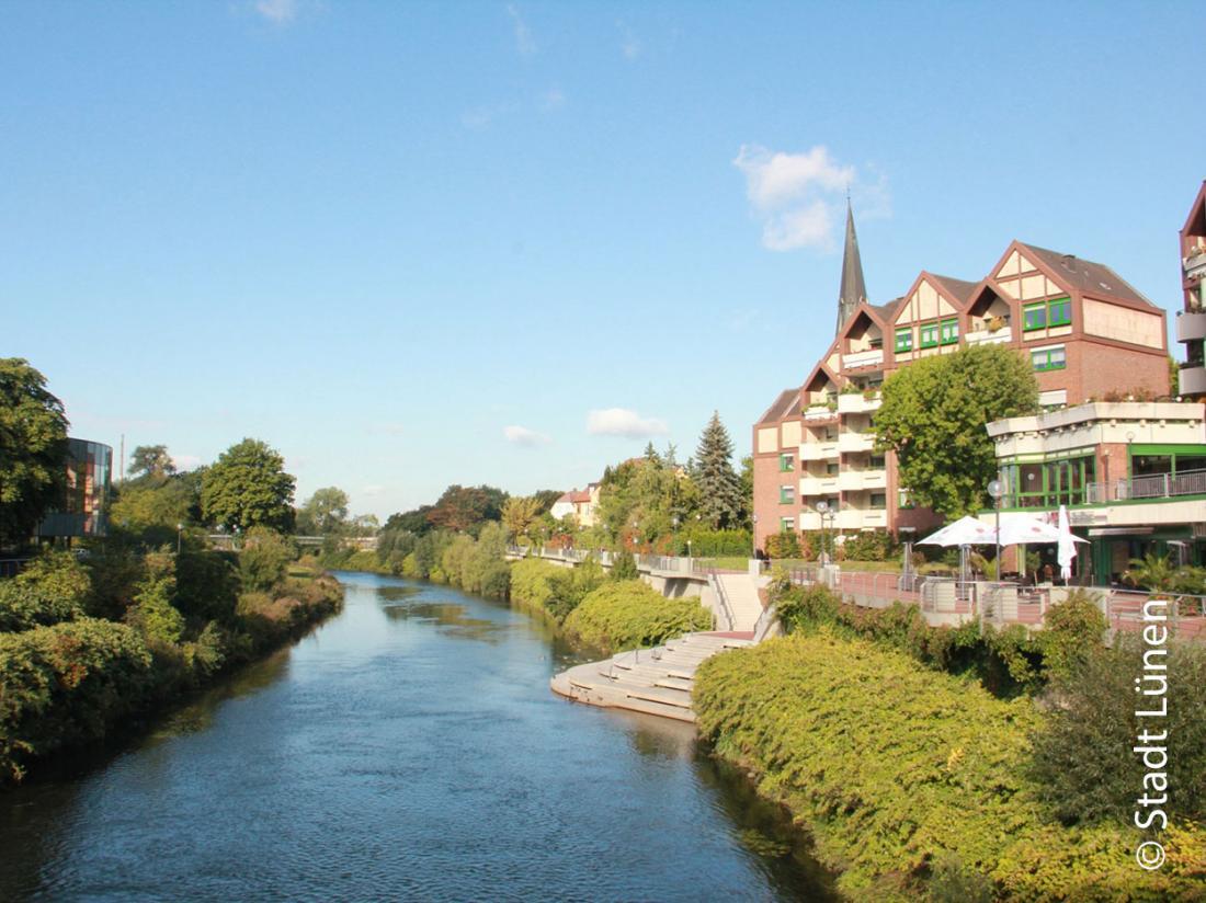 Weekendje weg Duitsland Lunen rivier