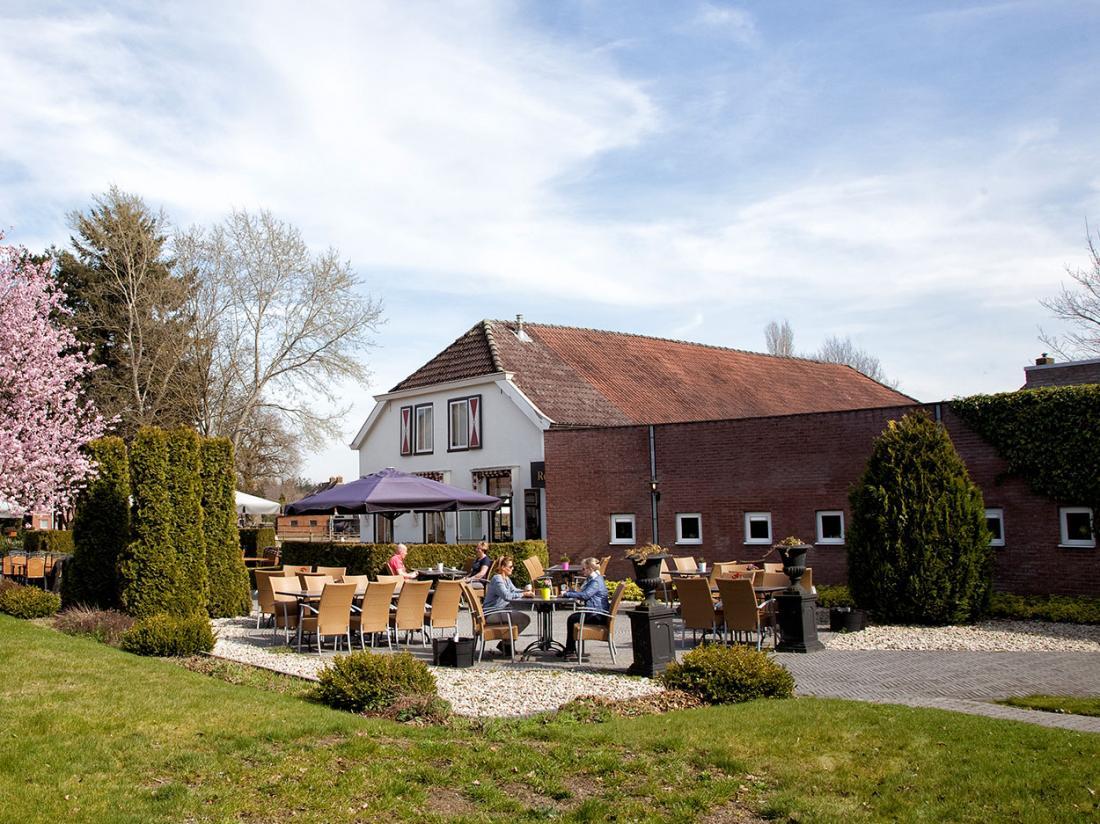 Weekendjeweg Drenthe Terras