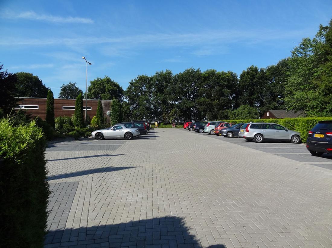 Weekendjeweg Ees parkeerplaats
