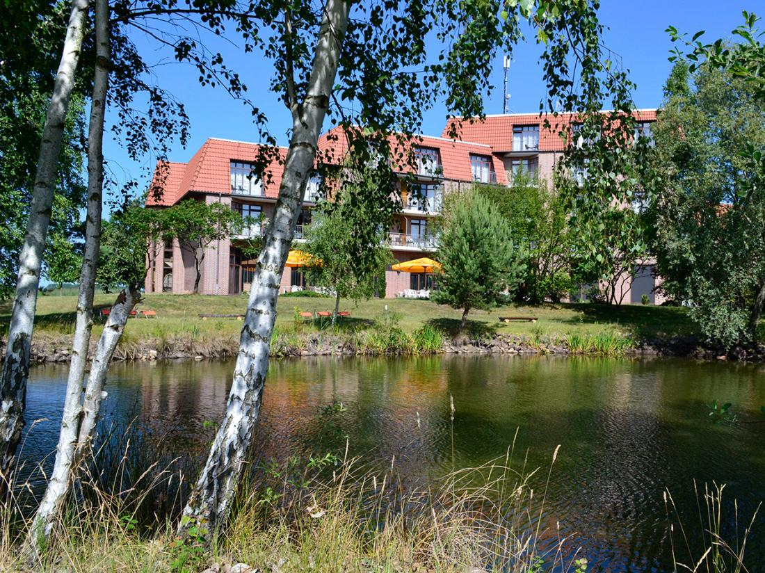Hotelaanbieding Bersteland Duitsland Exterieur