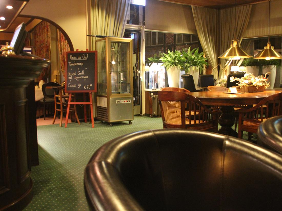 Hotel Maas Ootmarsum Lounge