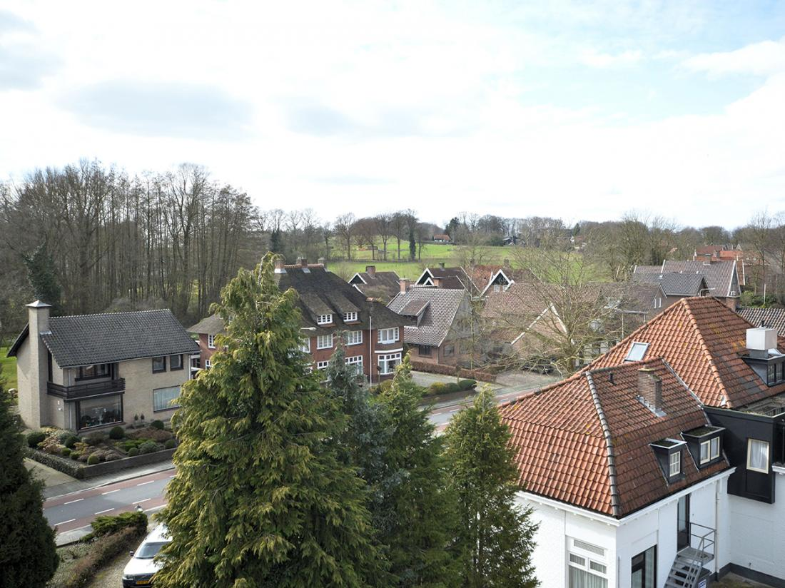 Hotel Ootmarsum Bovenaanzicht