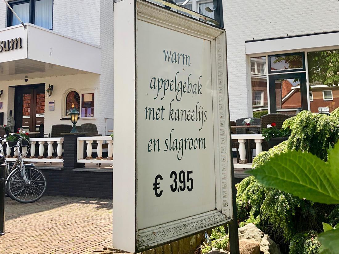 Weekendjeweg Overijssel Appelgebak