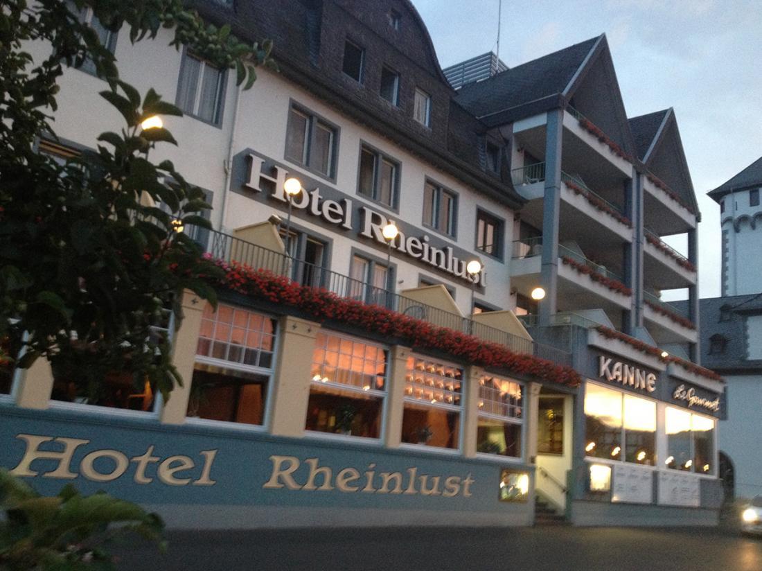 Hotelarrangement Rheinlust hotel aanzicht
