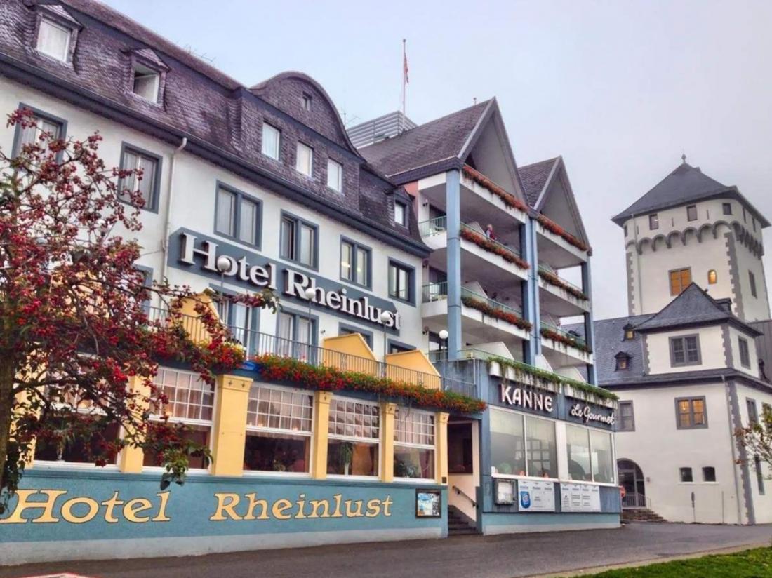 hotel duitsland rheinlust hotel langs de rijn aanzicht