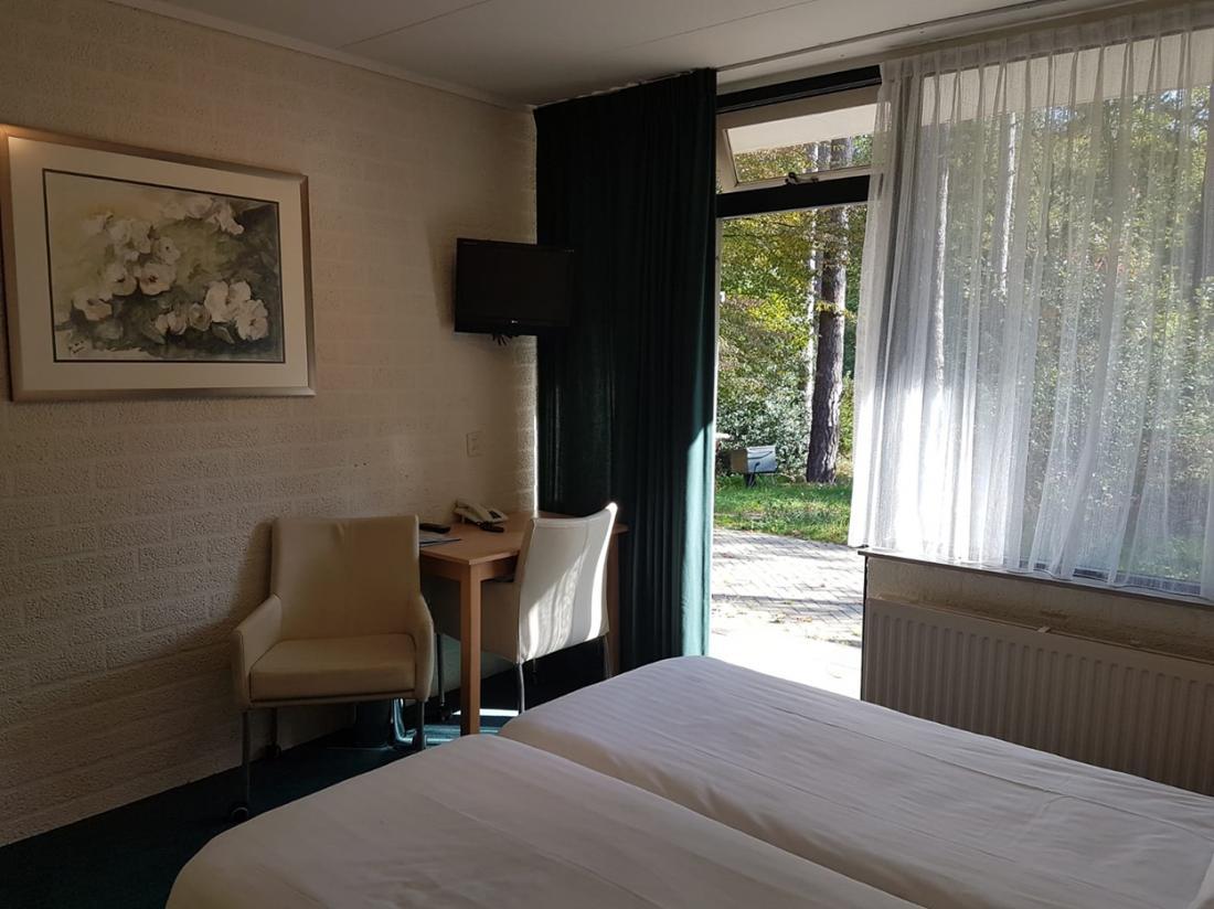 Buitengoed Fredeshiem Overijssel Hotelkamer Terras