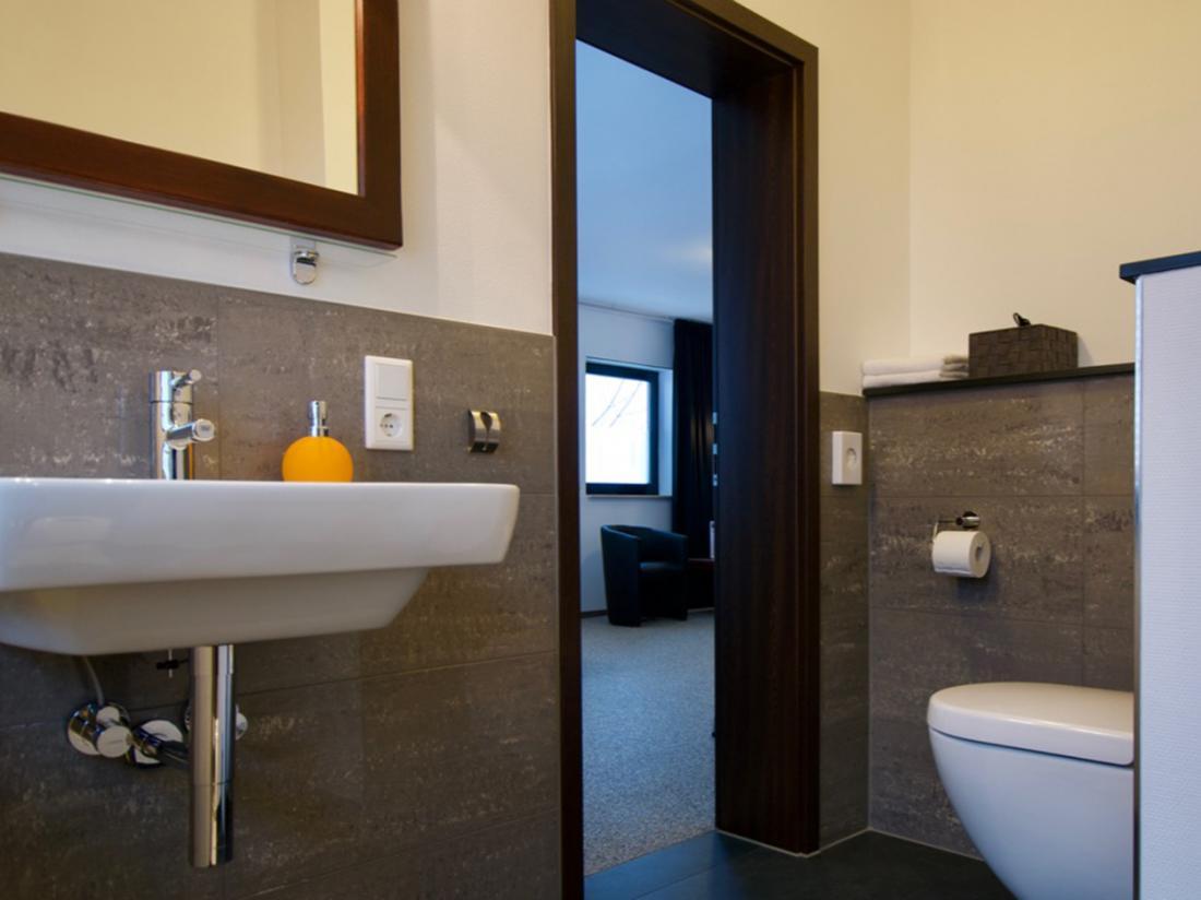 Bed Breakfast Winterberg Sauerland Standaard Kamer Sanitair