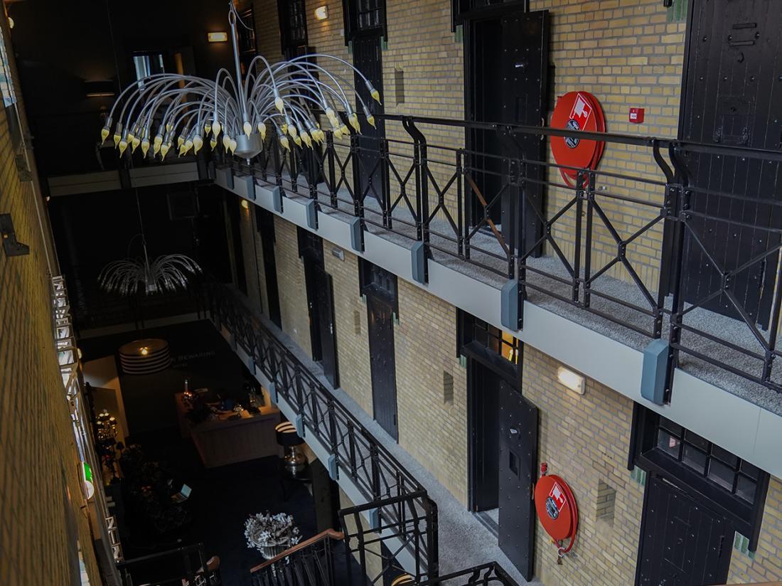 Hotel Huis van Bewaring Almelo Overijssel Interieur