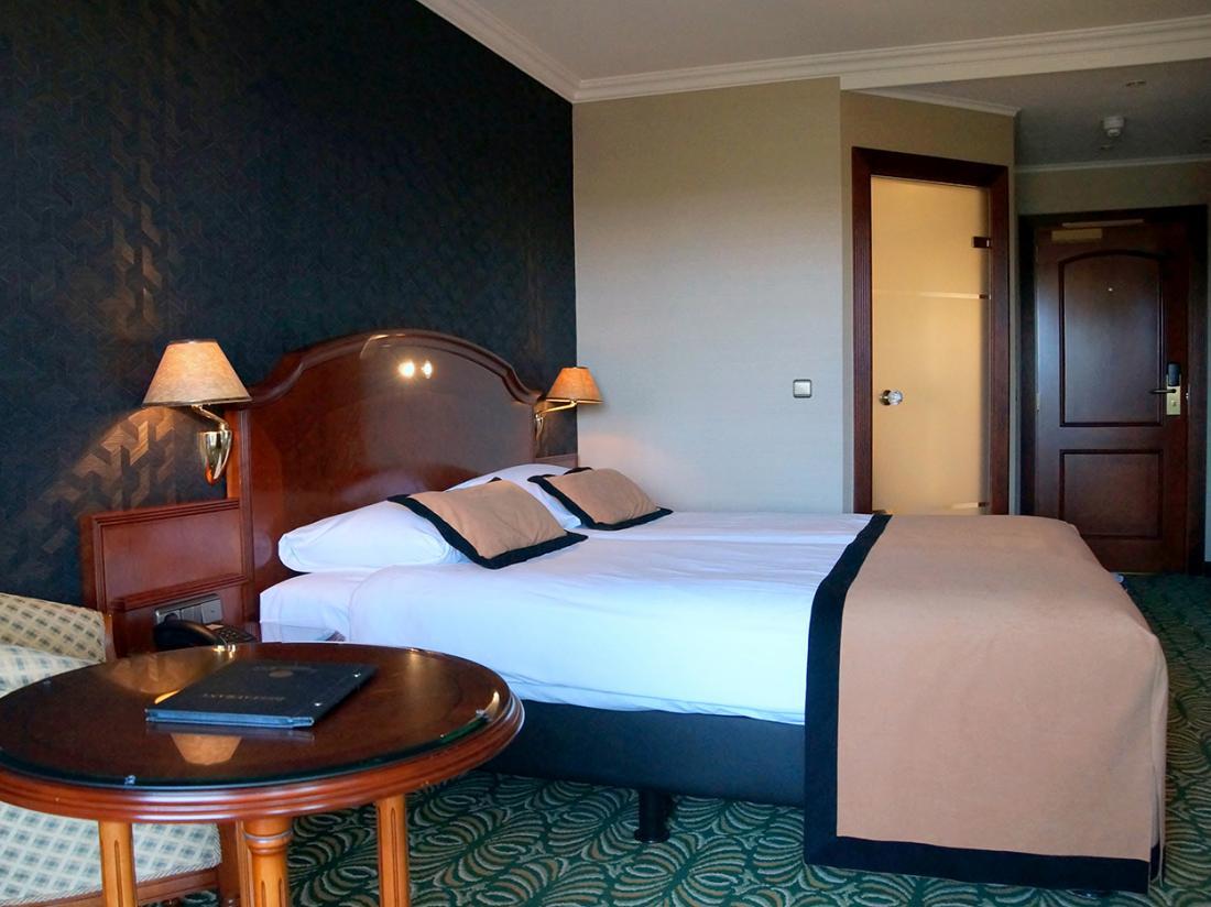 Weekendje weg Noordwijk Alexander hotel kamer