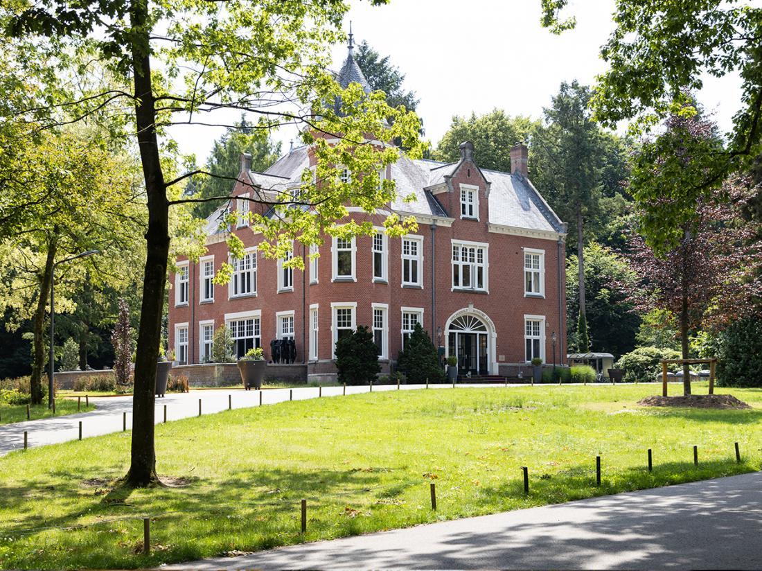 HotelKasteel Spelderhof Beekbergen Kasteel Buitenaanzicht