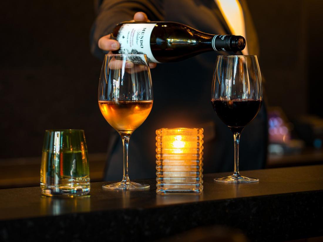 Hotel Postillion  Amsterdam wijn restaurant
