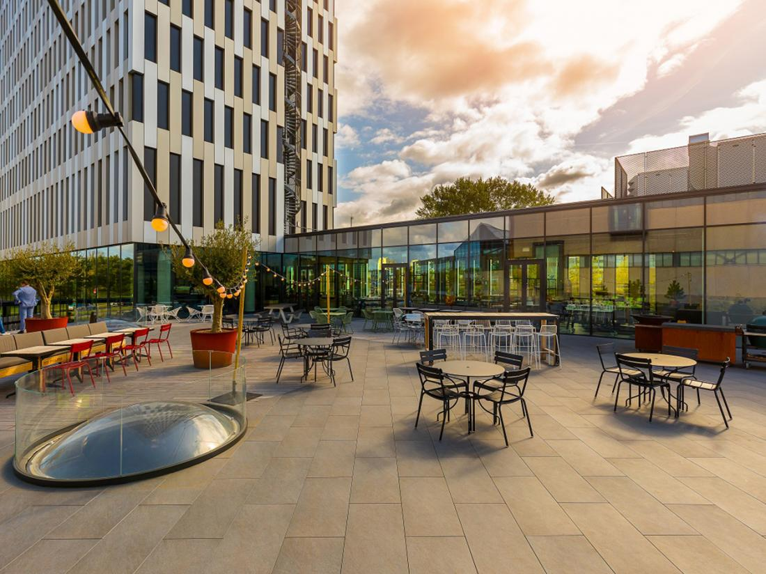 Hotelaanbieding Amsterdam Hotel Terras