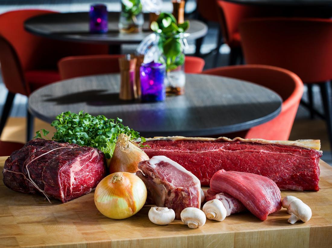 Postillion Hotel Amsterdam Weekendjeweg Vlees