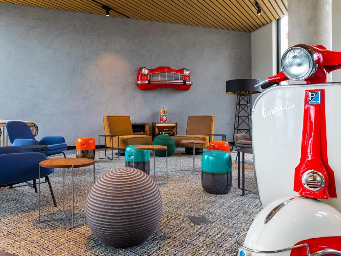 Weekendjeweg Amsterdam Hotel Lounge