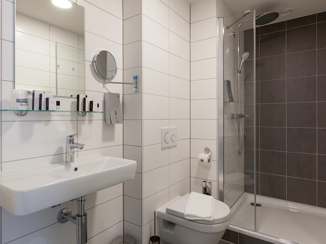Amstelveen badkamer hotel weekendweg