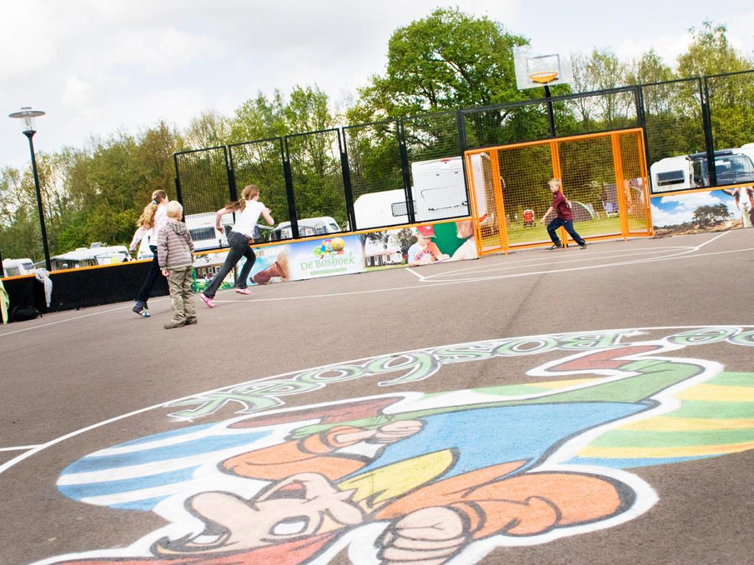 Hotel de Boshoek Voorthuizen Basketbalveld