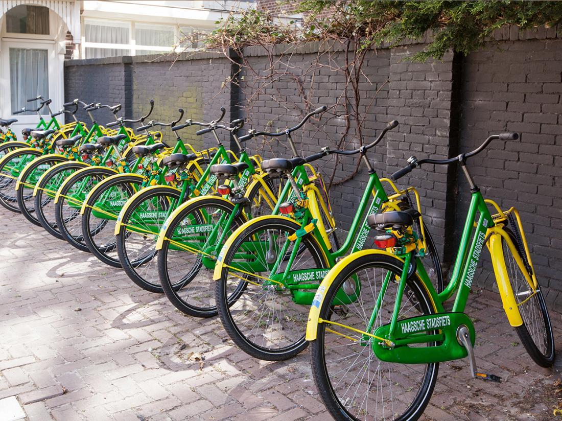 hotelaanbieding den haag fietshuur