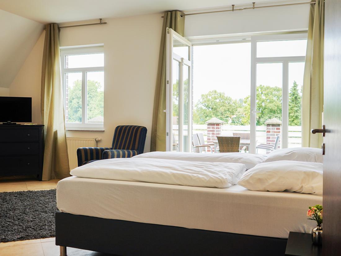 dS Hotel Gronau Duitsland Hoteltopdeal hotelkamer balkon