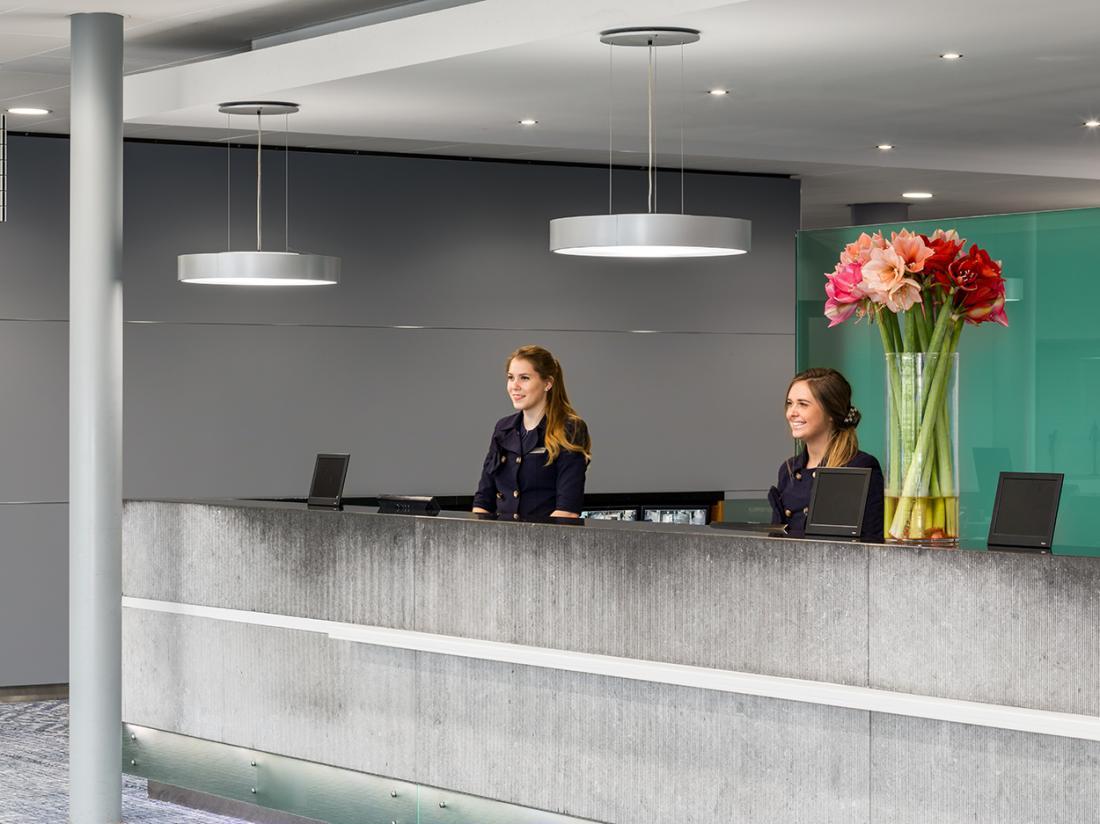 Hotelarrangement Zuid Holland Receptie