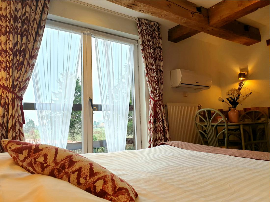 Hotel De Stokerij Belgi Weekendjeweg Vlaanderen Overnachting kamer natuur
