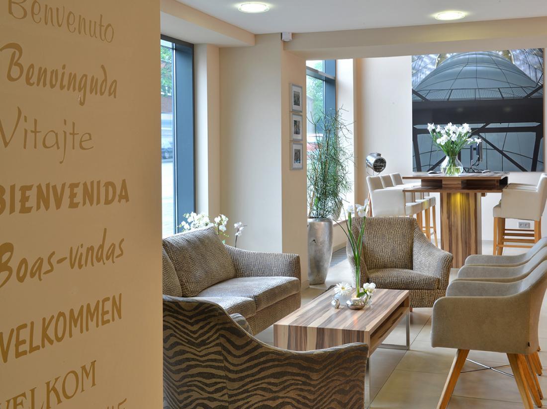 Parkhotel Oberhausen Entree Lobby