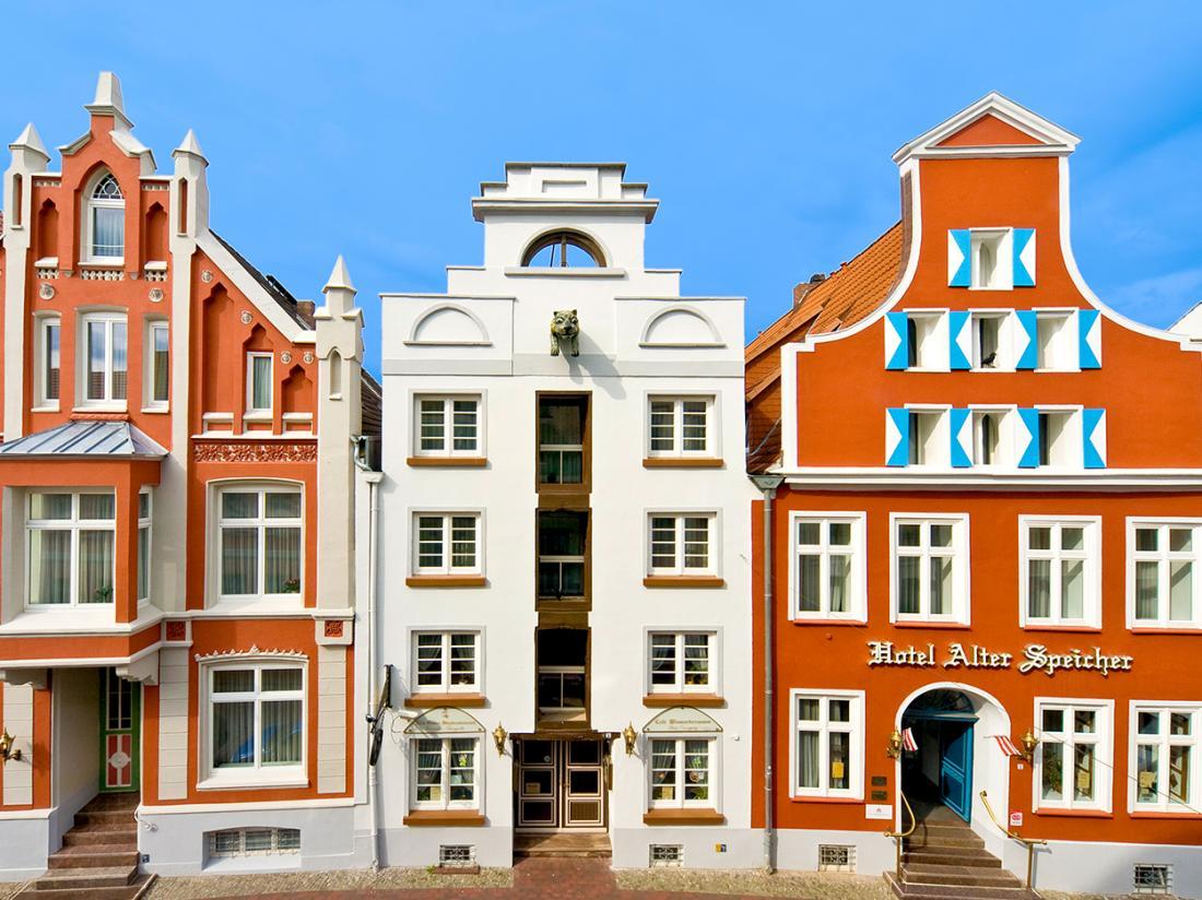 Hotel Alter Speicher Wismar Hotel Aanzicht