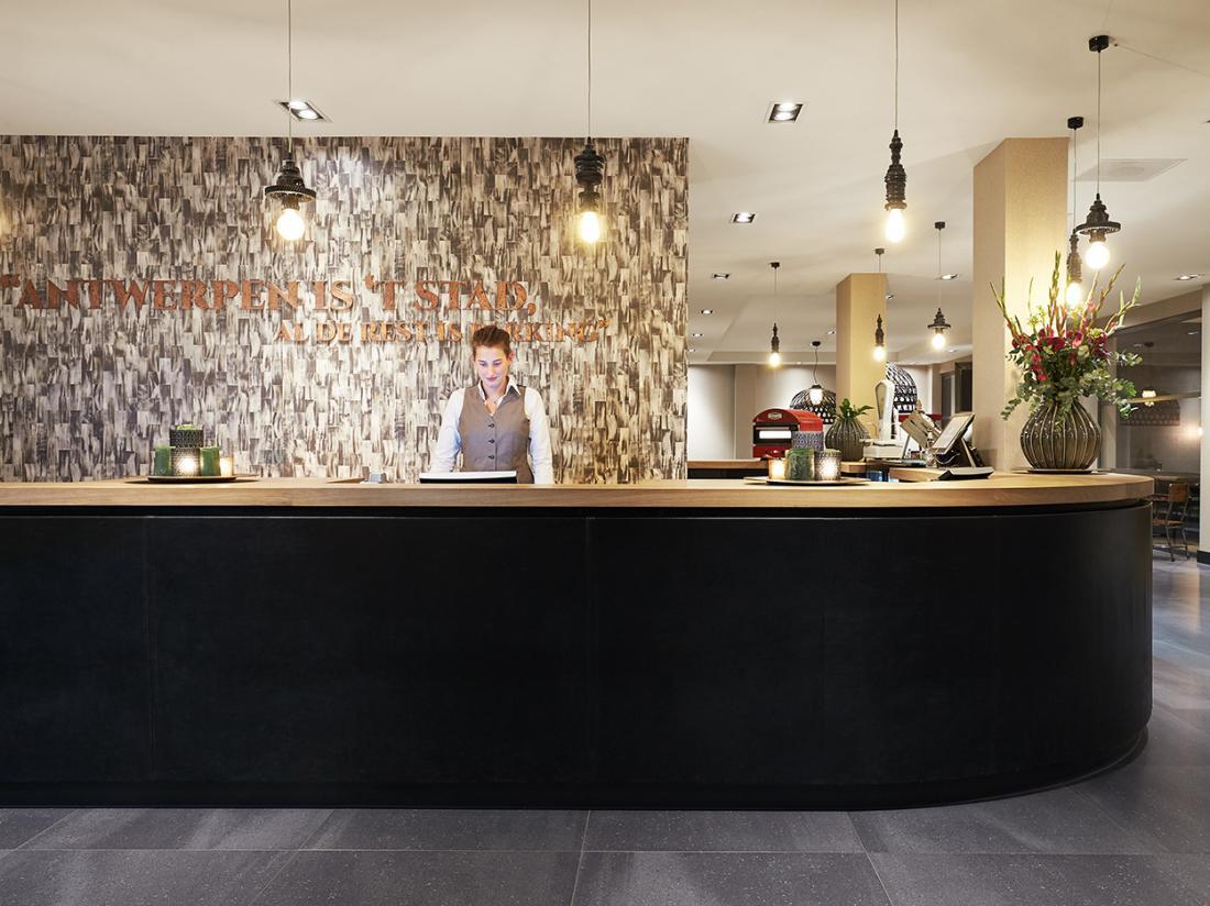 Van der Valk Hotel Antwerpen Receptie