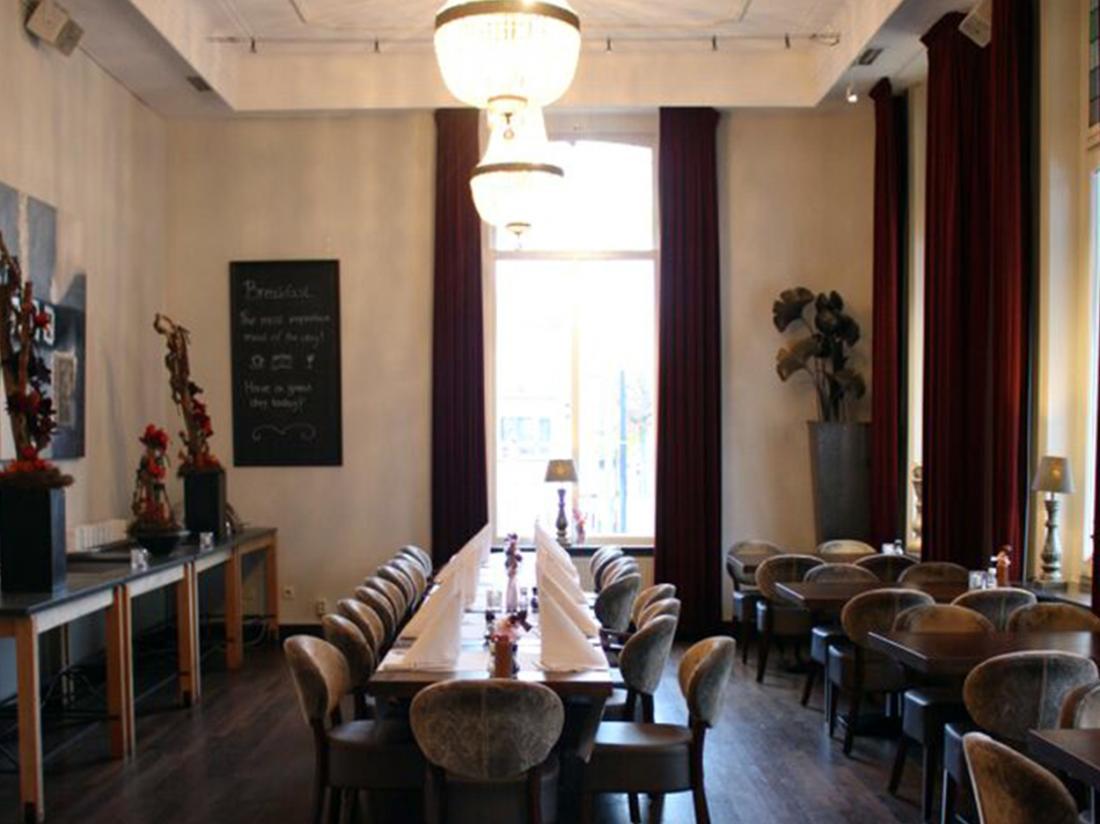 Golden Tulip West Ende Brabant Weekendjeweg restaurant interieur