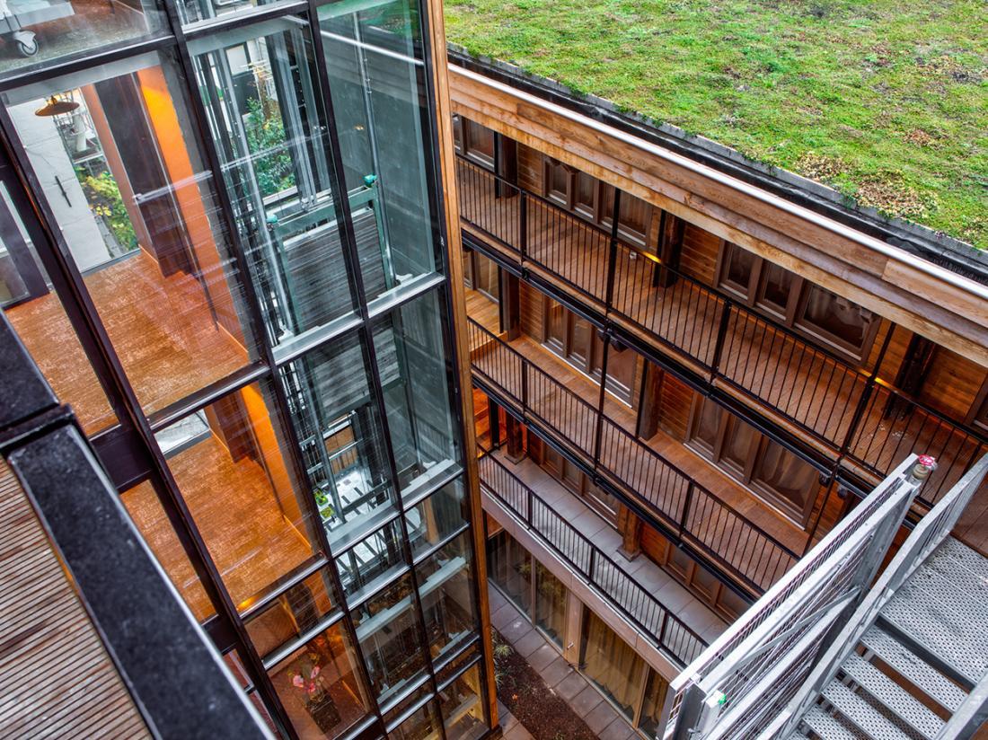 Hotel van de Vijsel Hotelovernachting Amsterdam Exterieur