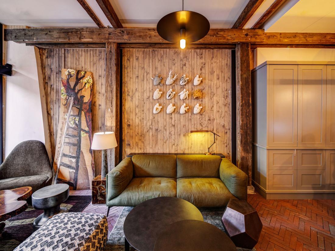 Hotel van de Vijsel Hotelovernachting Amsterdam Lobby