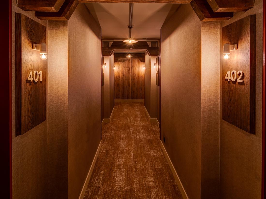 Hotel van de Vijsel Weekendjeweg Amsterdam Hallway