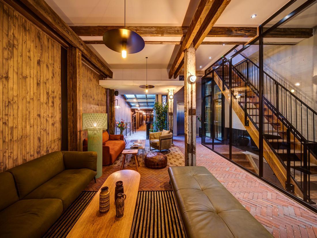 Hotel van de Vijsel Weekendjeweg Amsterdam Lobby