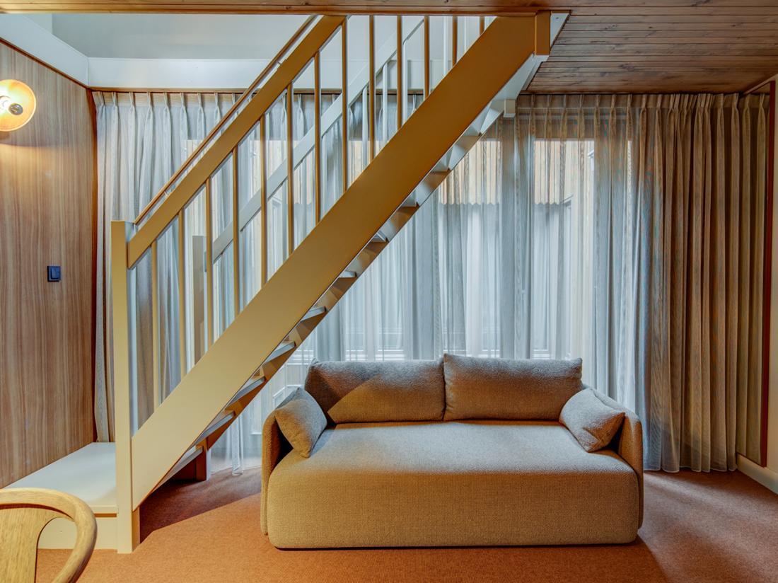 Hotel van de Vijsel Weekendjeweg Amsterdam Suite Woonkamer