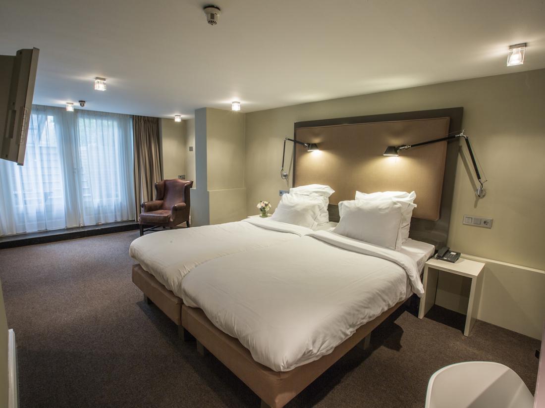 Hotel de Roemer Amsterdam Hotelovernachting Hotelkamer