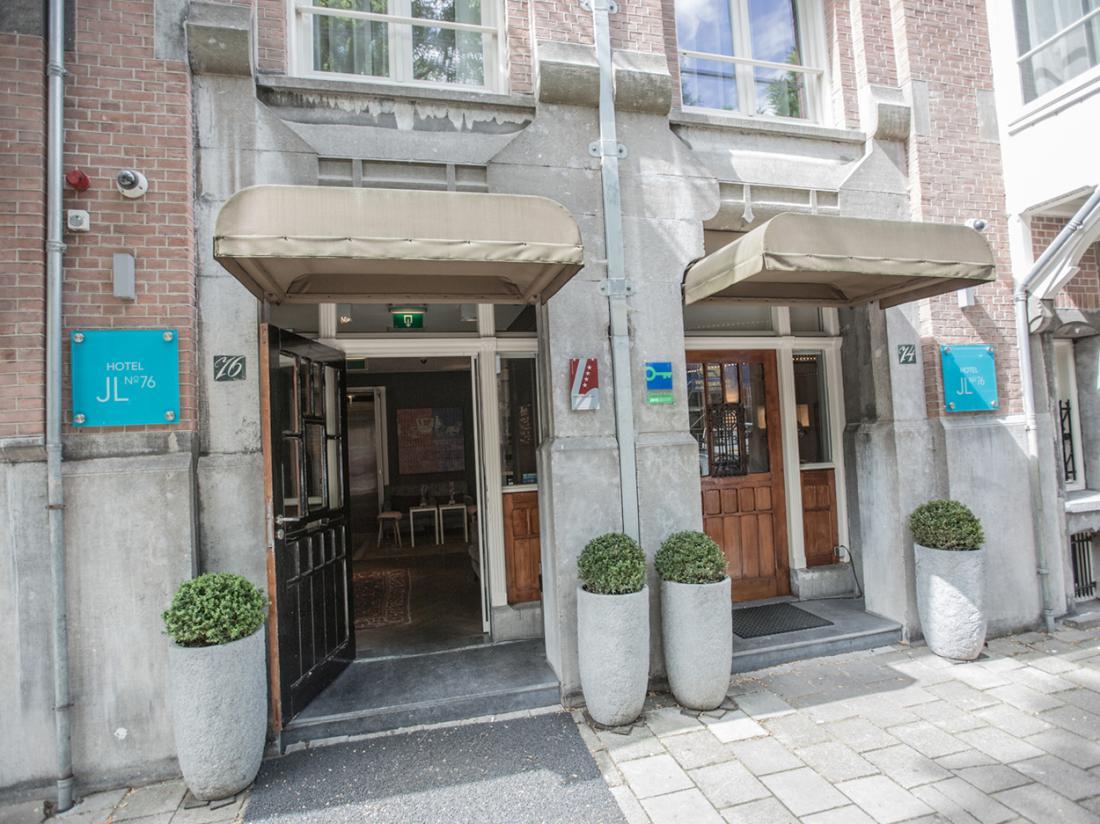 Hotel JLNo76 Weekendjeweg Amsterdam Entree