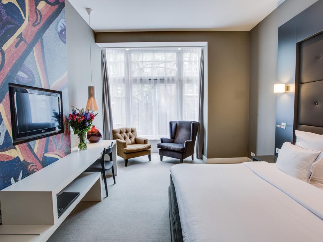 Hotel JLNo76 Weekendjeweg Amsterdam Hotel Kamer