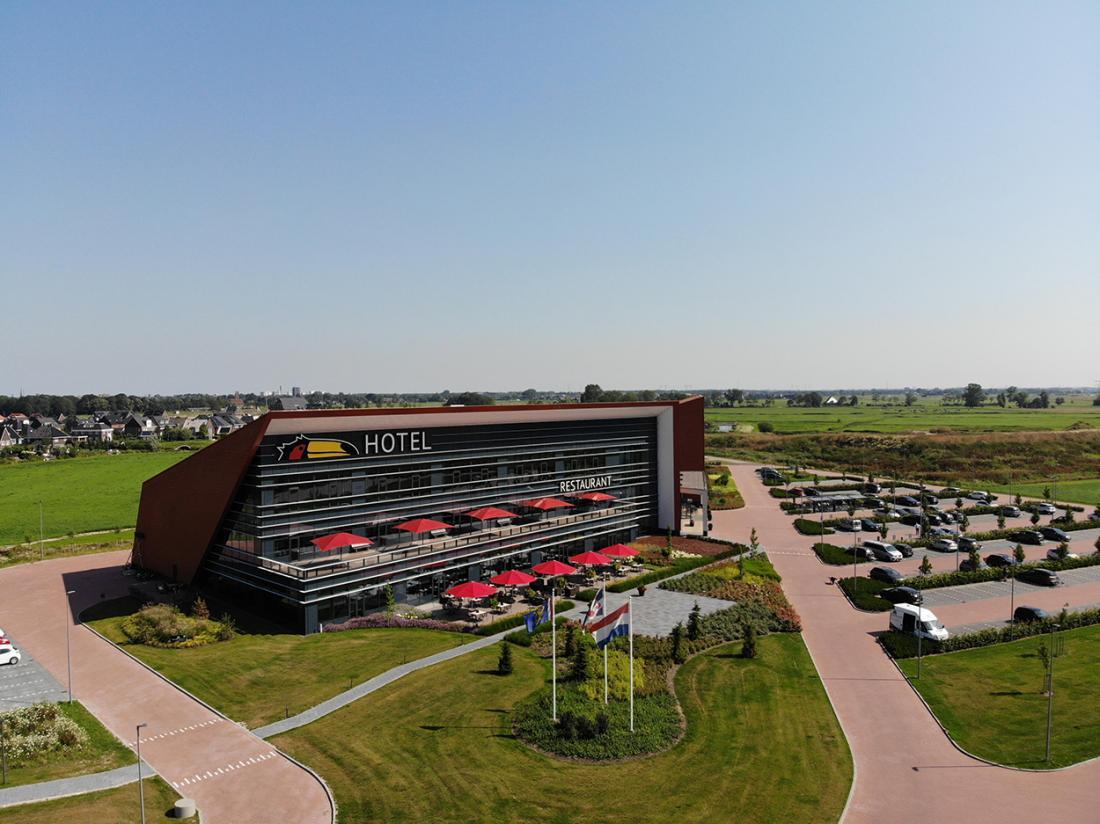 Van Der Valk Hotel Leeuwarden Friesland Buitenaanzicht
