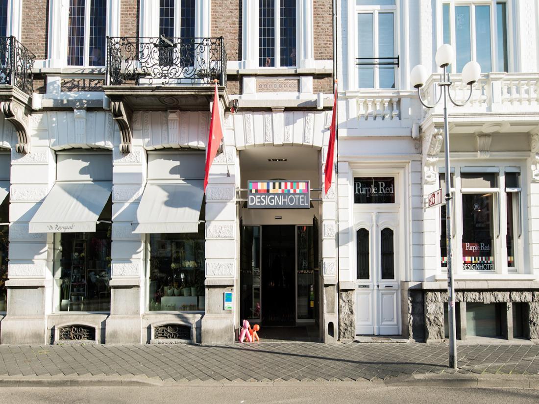 Designhotel Limburg Ingang