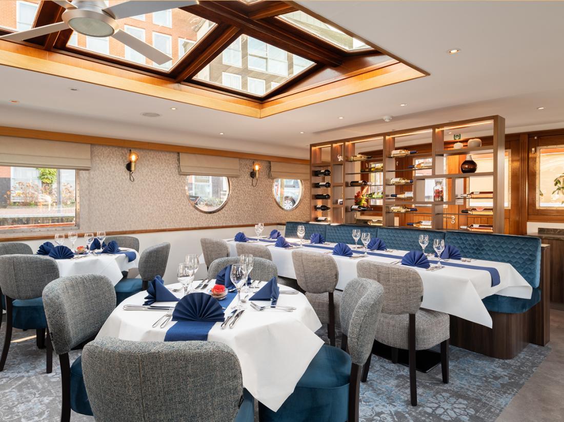 hotelboat merlijn dineren