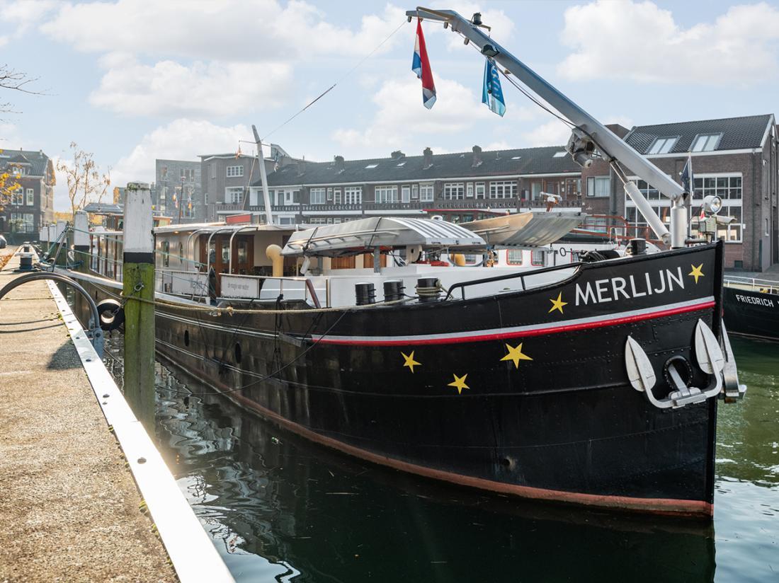 hotelboat merlijn exterieur